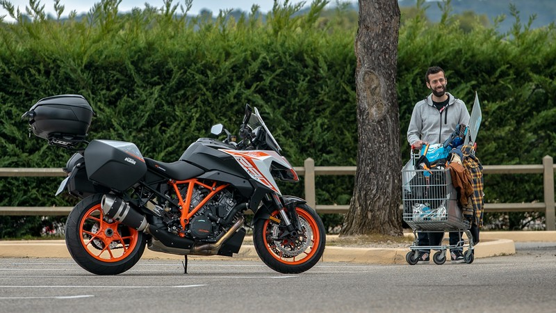 KTM Super Duke GT Highside vacances 2019