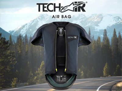 gilet airbag techair pour ktm