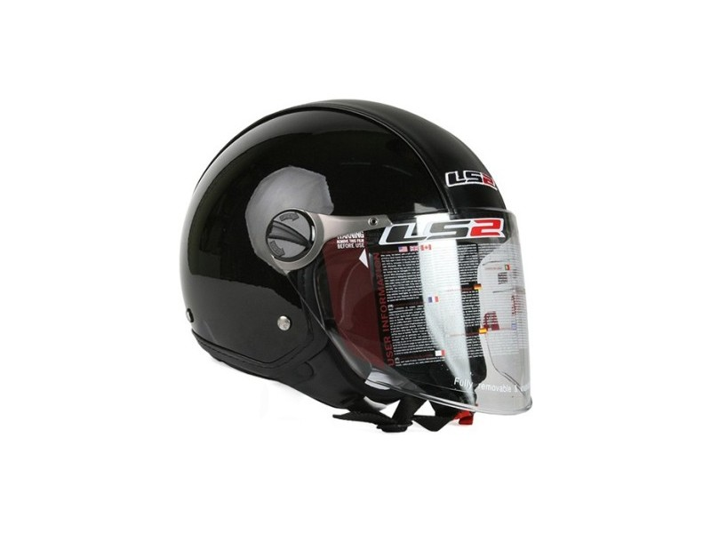 LS2 Casque OF560 Beetle Gloss Black