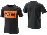 KTM KIDS RADICAL LOGO TEE BLACK