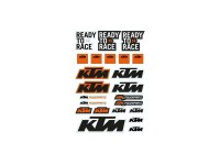 KTM-LOGO STICKER SHEET KTM