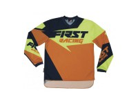 FIRSTRACING- MAILLOT DATA 2017 orange