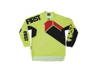 FIRSTRACING- MAILLOT SCAN 2017 Lime Fluo