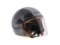 LS2 Casque OF560 Easy Rider Silver