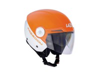 LAZER-Casque Jet Boler oFreedom Blanc-Orange