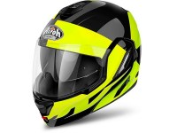 AIROH CASQUE REV FUSION YELLOW GLOSS