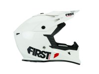 FIRSTRACING- CASQUE T3 BLANC