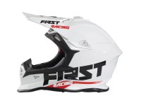 FIRSTRACING- CASQUE KID KOBALT BLANC
